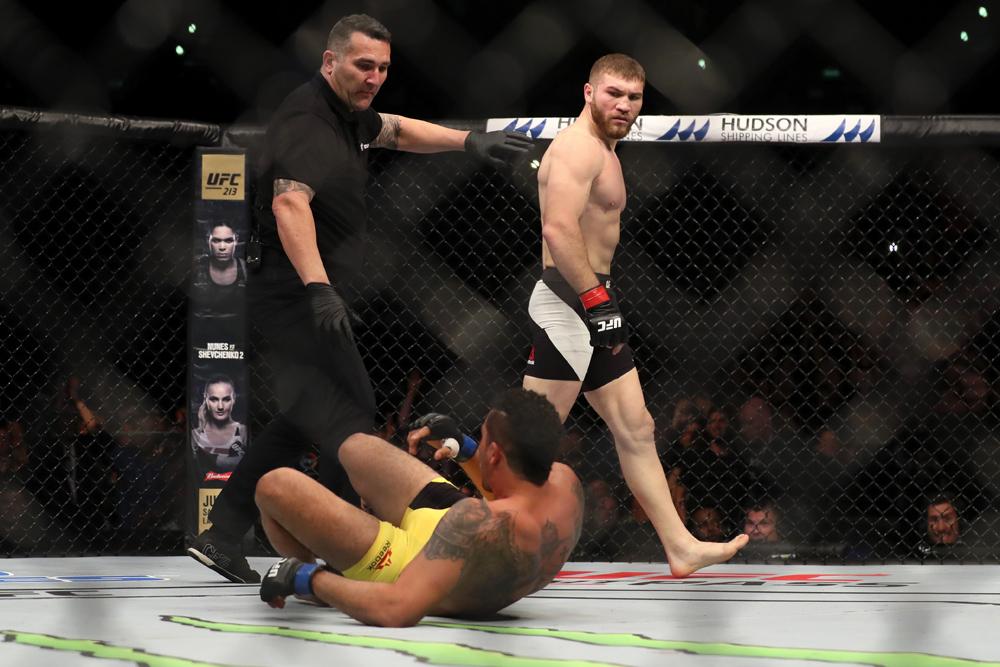 MMA: UFC Fight Night-Auckland Cutelaba vs da Silva