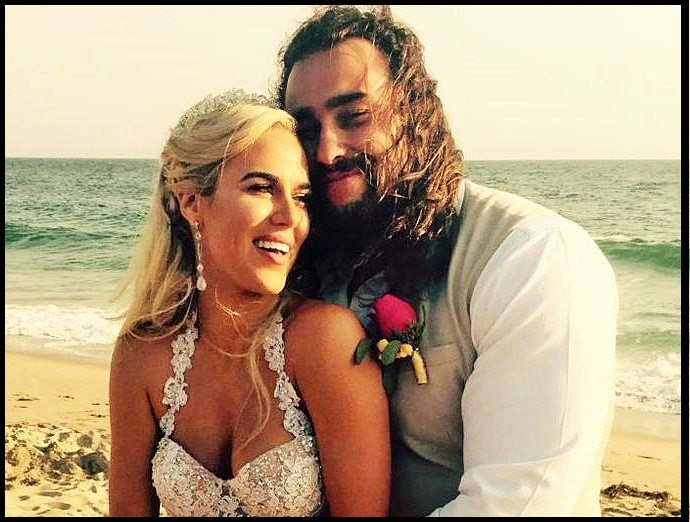 Rusev-Lana-Wedding