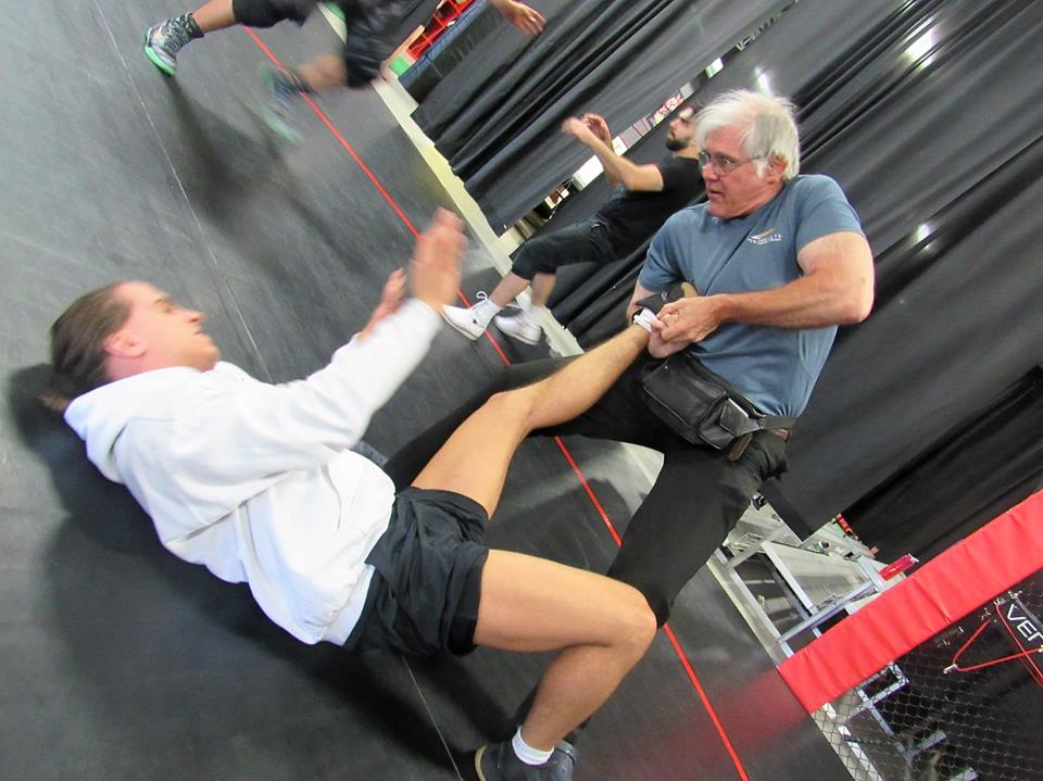 Rip Rogers training