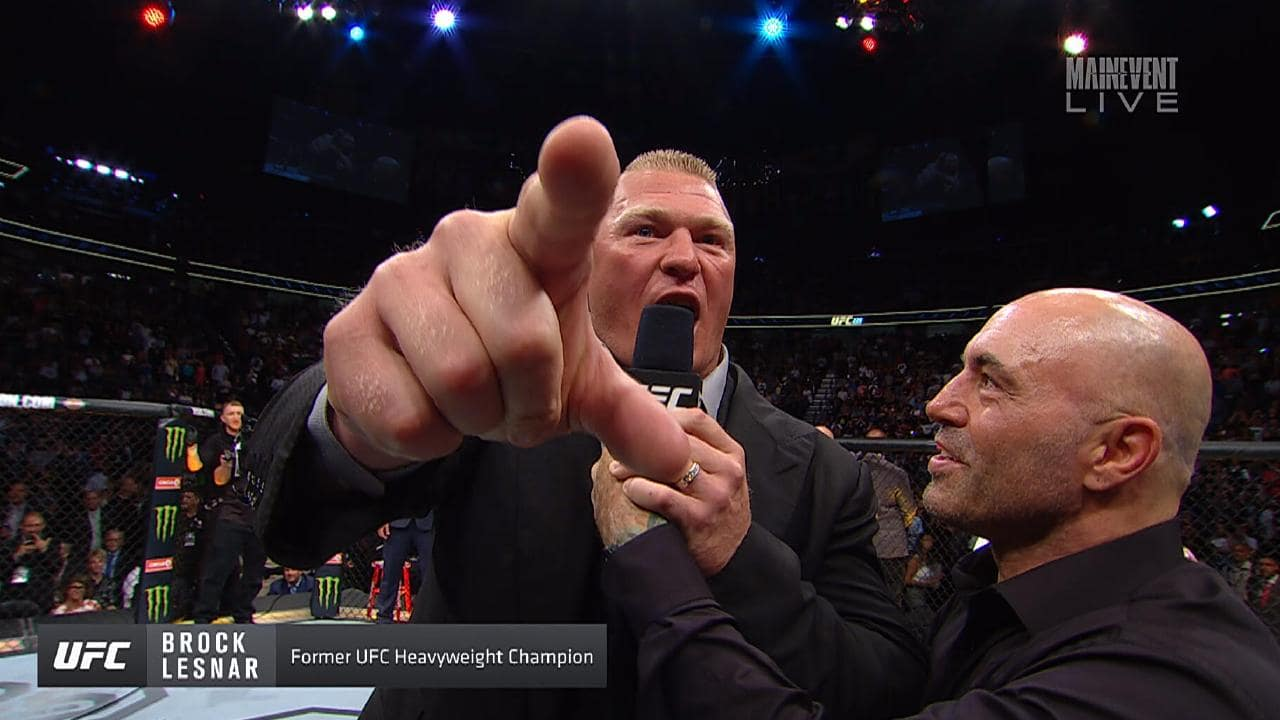 Image result for brock lesnar stipe the piece of the shit""