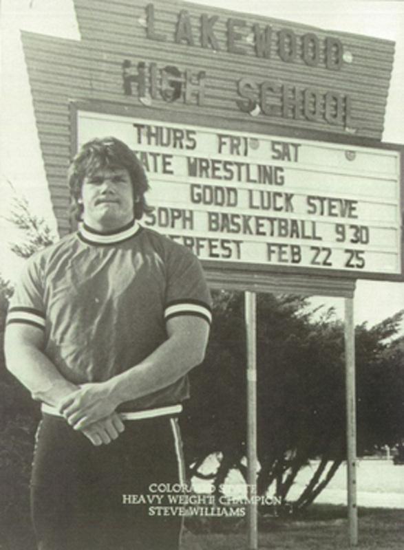 PLEASE USE-Steve Williams rare high school photo