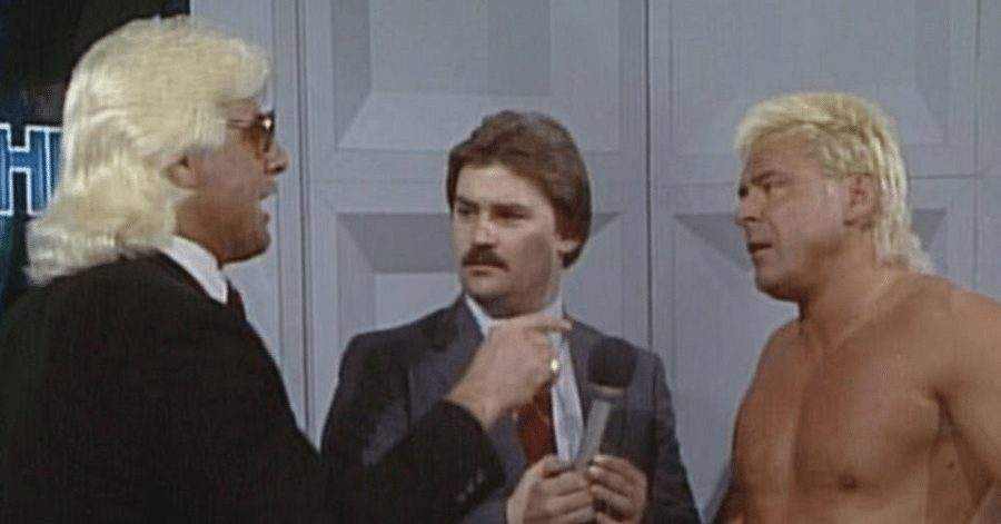 Ric-Flair-Tony-Schiavone-and-Ronnie-Garvin