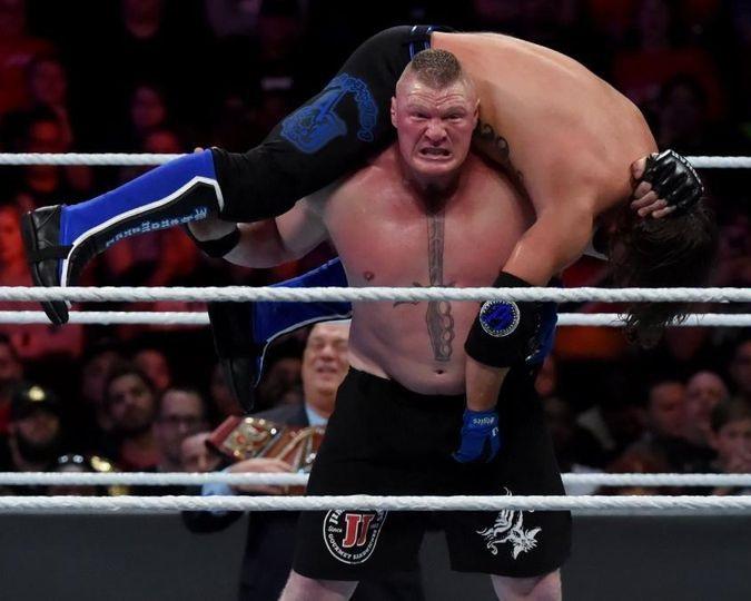 Lesnar vs Styles