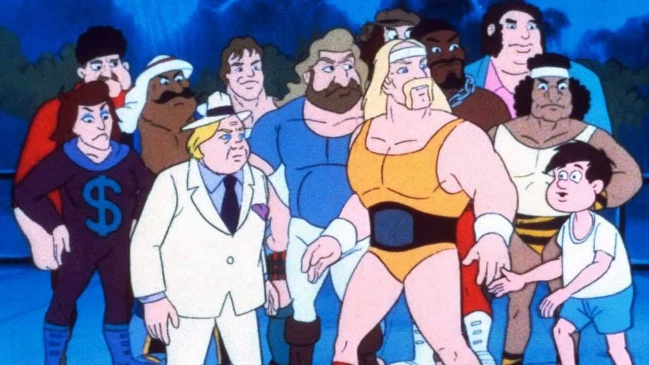 10-Rock'n'Wrestling cartoon