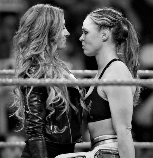 Becky-Lynch-squares-off-with-Ronda-Rousey-Raw