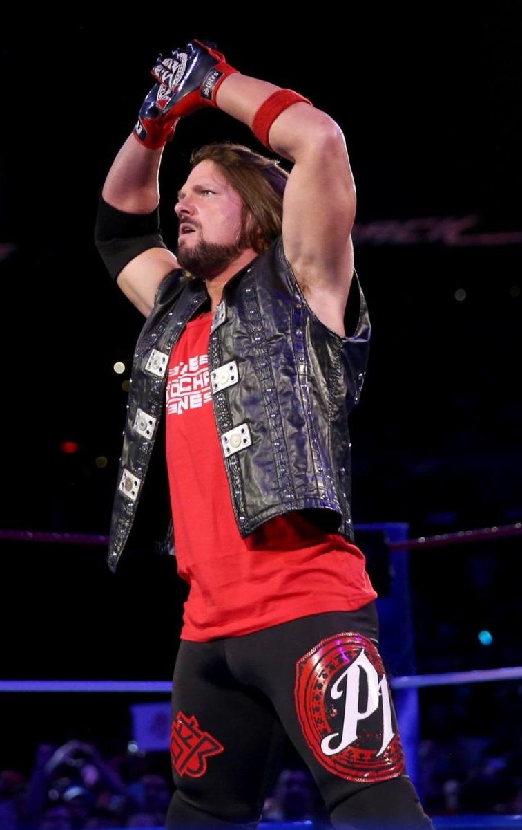 AJ Styles - Red