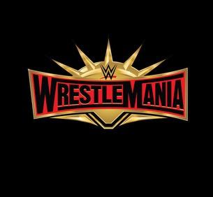 WrestleMania 35 Logo (black)