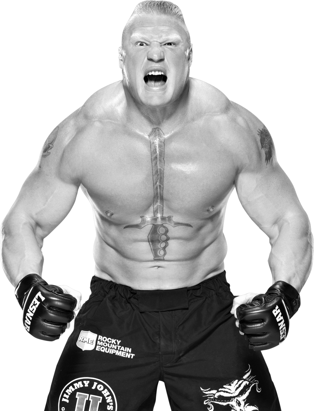Brock-Lesnar-Transparent-Background
