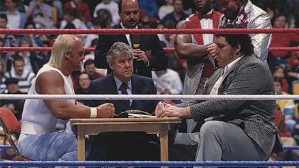 Andre and hogan RR contract signing