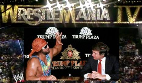 Royal Rumble...savage and Trump